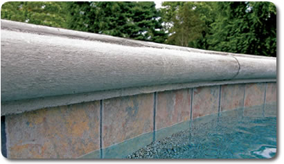 Pool Coping Tile Triad Associates - Bullnose tiles for pools